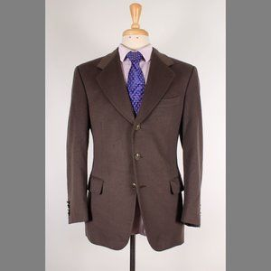 Ravazzolo 38S Green/Brown Sport Coat B949